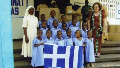 Photo of Εγκαινιάστηκε Ελληνικό σχολείο στην Ακτή Ελεφαντοστού