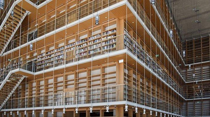 Αυτή είναι η καινούργια στέγη της Εθνικής Βιβλιοθήκης (pics) 1