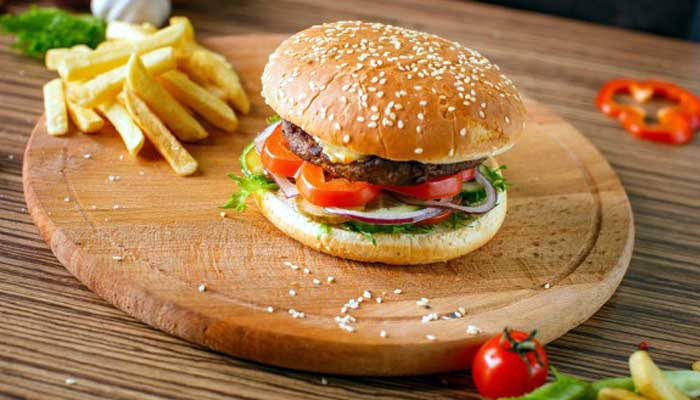burger woodplate