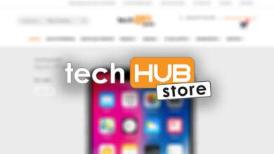 tech hub store