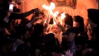 Photo of Η Αφή του Αγίου Φωτός (video)