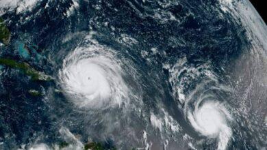 Photo of Πέντε τροπικοί κυκλώνες βρίσκονται ταυτόχρονα στον Ατλαντικό