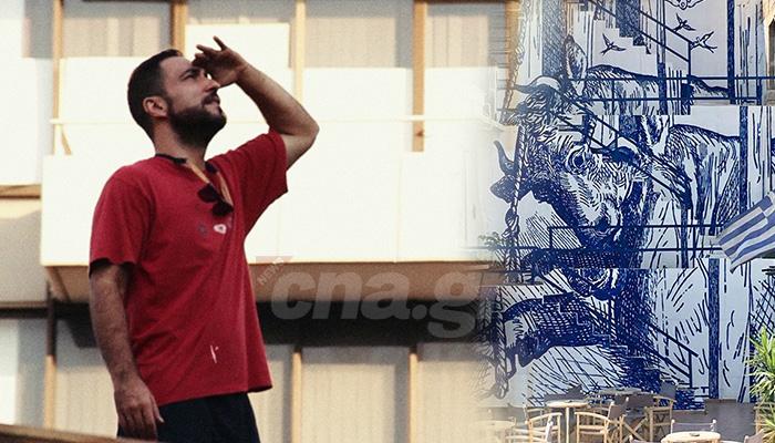 Ο Μ. Αναστασάκος στο CNA.GR: «Τέχνη είναι... ελευθερία» 1