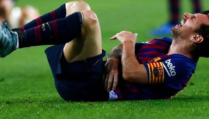Τραυματισμός-σοκ για τον Μέσι 1
