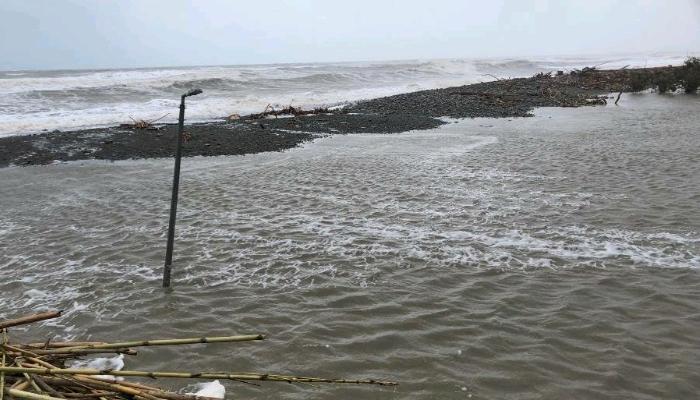 Εξαφανίστηκε η παραλία Ταυρωνίτη στα Χανιά από την κακοκαιρία 1