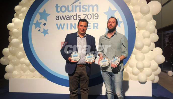 alexakis tourism awards