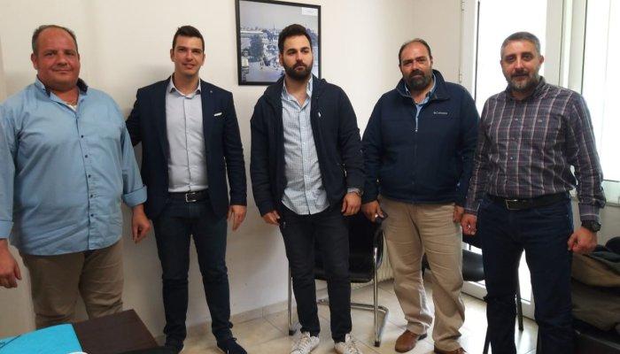 Επίσκεψη Α. Μαρκογιαννάκη στα γραφεία της διοίκησης του Αστικού ΚΤΕΛ Χανίων 1