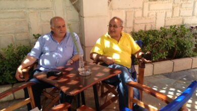 Photo of Σητεία: Συνάντηση Μανόλη Κλώντζα με τον πρόεδρο ξενοδόχων