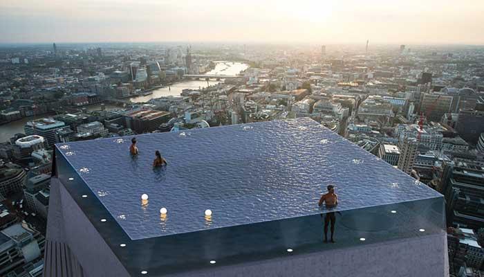 Η πιο εντυπωσιακή πισίνα του κόσμου ετοιμάζεται στο Λονδίνο 1