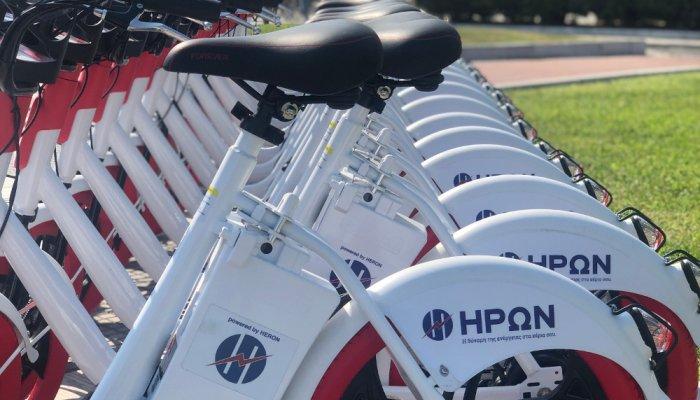 Θεσσαλονίκη: Τα ΗΡΩΝ e-bikes μπαίνουν στην καθημερινότητα των πολιτών 1