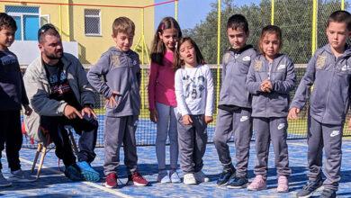 Photo of Ο Μιχάλης Λεμονής διδάσκει Βoccia στο Junior Academy – Χερρονάσιος Σχολή