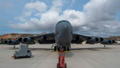 Photo of Βομβαρδιστικό Β-52 προσγειώθηκε για πρώτη φορά στη Σούδα