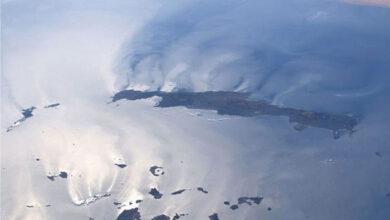 Photo of Η Κρήτη και οι Κυκλάδες από το διάστημα