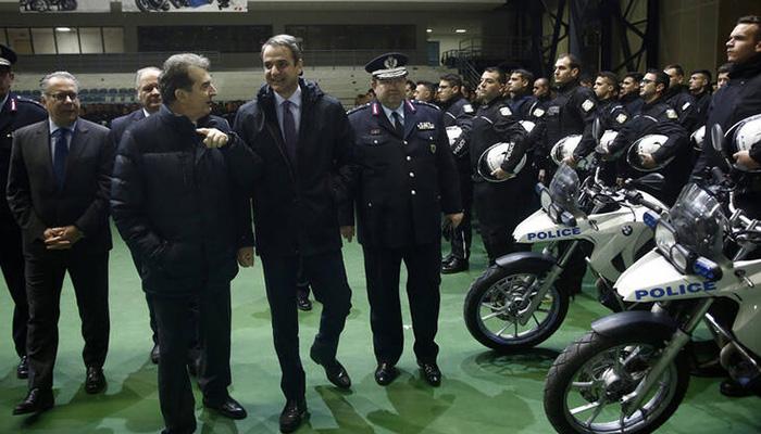 mitsotakis police