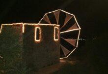 Photo of Λασίθι: Στολίστηκε ο ανεμόμυλος στο Νικηθιανό