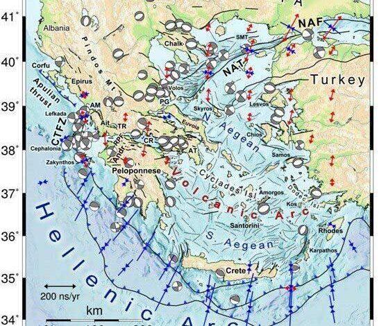 seismos map