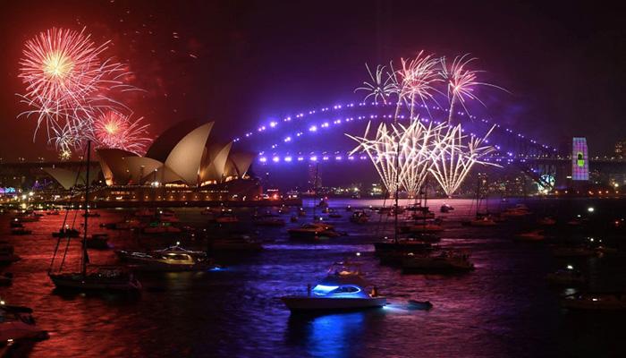 sidney new year