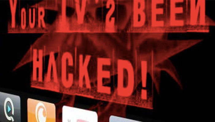 smart tv hacked