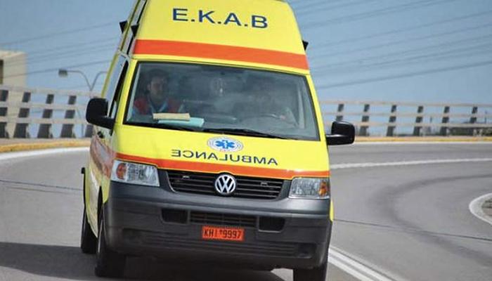 Ηράκλειο: Σοβαρό τραυματισμός σε τροχαίο 1