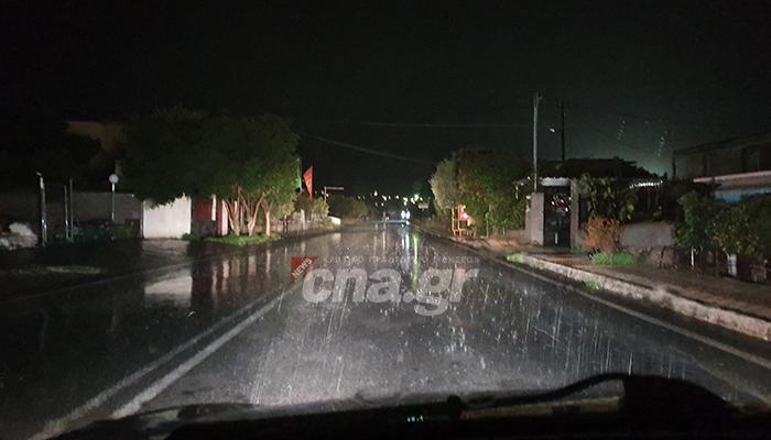 vroxi rain agios nikolaos