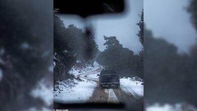 Photo of Φωτογραφίες από τον χιονισμένο Κρούστα (pics)