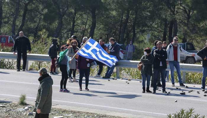 Σέρρες: Διαμαρτυρία κατοίκων για τη δημιουργία κλειστού κέντρου φύλαξης προσφύγων 1