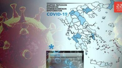 Photo of Η θέση της Ελλάδας στον «παγκόσμιο χάρτη» του κορωνοϊού