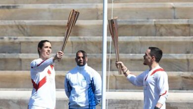 Photo of Παράδοση Ολυμπιακής Φλόγας: Με Πετρούνια-Στεφανίδη στο άδειο «Παναθηναϊκό Στάδιο»