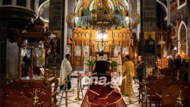 Photo of Ακολουθία του Ακαθίστου Ύμνου στην Ιερά Μητρόπολη Πέτρας & Χερρονήσου