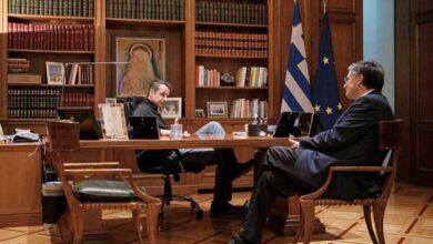 Photo of Συνάντηση Μητσοτάκη – Τσιόδρα για τα επόμενα βήματα