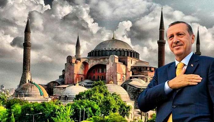 erdogan agia sofia