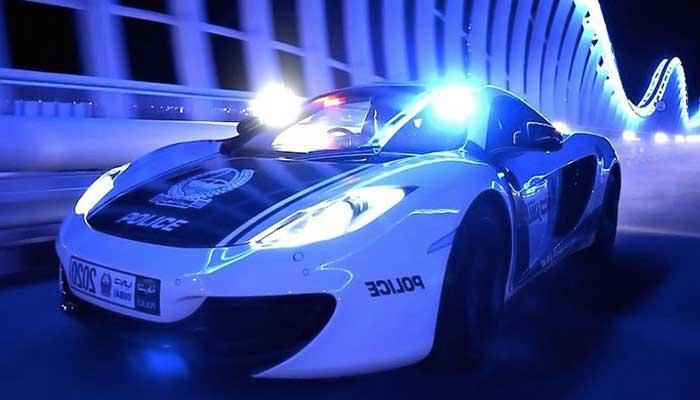 police supercar
