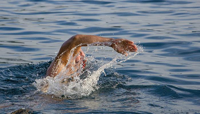 swimming kolympi beach