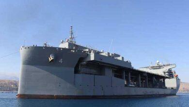 Photo of Το ελικοπτεροφόρο USS Hershel «Woody» Williams που έρχεται στη Σούδα