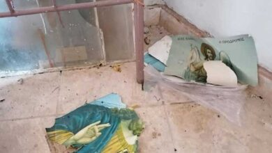 Photo of Μόρια: Μετανάστες κατέστρεψαν τον ναό του Αγίου Γεωργίου