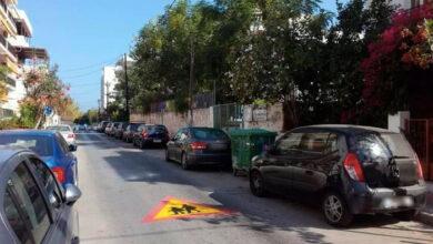 Photo of Χανιά: Διαγραμμίσεις μπροστά από σχολεία