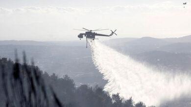 Photo of Αγιος Νικόλαος: Δύο ελικόπτερα στην επιχείρηση κατάσβεσης της φωτιάς στο «Βαθύ» (video)
