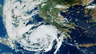 Photo of Πιθανή πορεία του μεσογειακού κυκλώνα προς την Κρήτη