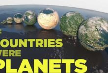 Photo of Πώς θα ήταν οι χώρες του κόσμου αν ήταν πλανήτες (video)