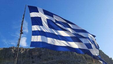 Photo of Η Ελληνική σημαία του Μανόλη Βουτσαλά κυματίζει στο ακριτικό Καστελόριζο