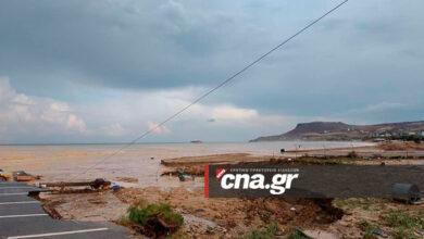 Photo of Ηράκλειο: Εικόνες καταστροφής στον Καρτερό (pics)