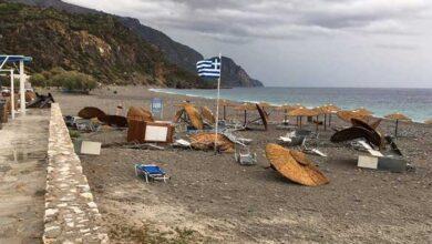Photo of Κακοκαιρία «Κίρκη»: Εικόνες καταστροφής σε περιοχή των Χανίων