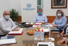 Photo of Περιφέρεια Κρήτης: Συνάντηση για τα έργα και τη στήριξη στην Δημόσια Υγεία