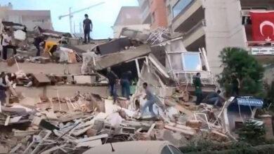 Photo of Καταρρεύσεις κτηρίων στην Τουρκία μετά τον σεισμό στη Σάμο
