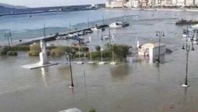 Photo of Μίνι «τσουνάμι» στην Σάμο – Η θάλασσα βγήκε στην στεριά