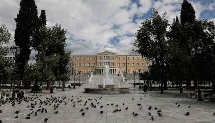 syntagma koronoios lockdown