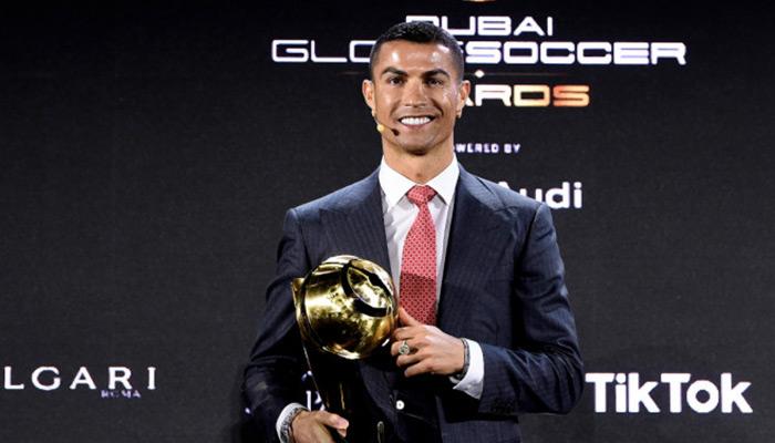 ronaldo globe soccer awards