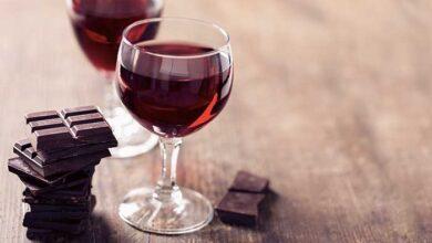 chocolate wine krasi