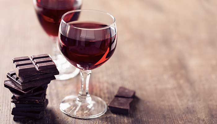 chocolate wine krasi