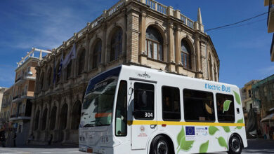heraklio electric bus